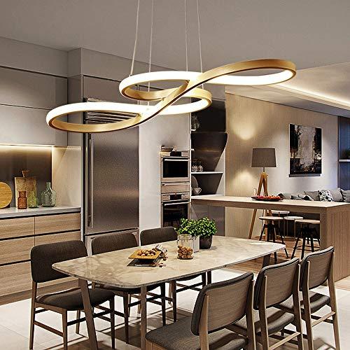 MQW Modernen Minimalistischen Ring Acryl Kreative Persönlichkeit Hinweis Form LED Kronleuchter Schlafzimmer Showroom Esszimmer Wohnzimmer Deckenleuchte Deckenleuchte (für 8-25 Quadratmeter) Stilvoll u
