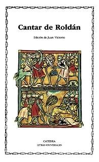 Cantar de Roldán par Juan Victorio