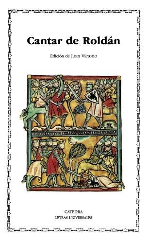 Cantar de Roldán (Letras Universales) por Juan Victorio