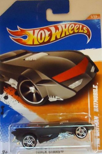 Hot Wheels 2011, The Batman Batmobile, Track Stars 66/244. 1:64 Scale by Hot Wheels