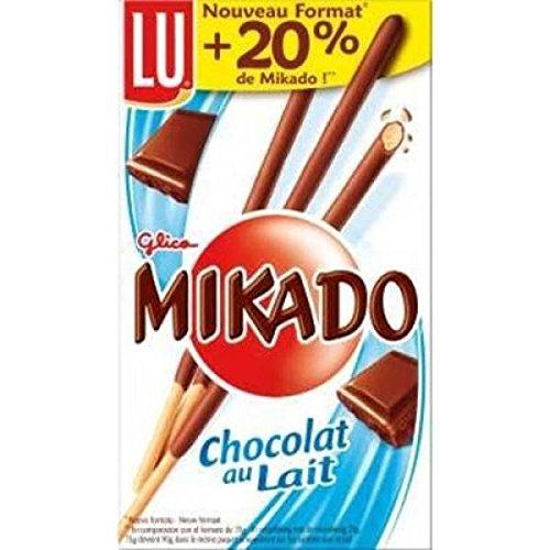 Lu mikado chocolat au lait 90g - ( Prix Unitaire ) - Envoi Rapide Et Soignée