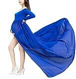 Happy cherry Maxi Vestidos de Maternidad Fotografía Props Disfraz Apoyo Fotográfico para Mujeres Embarazadas, Color Azul