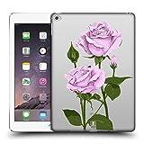 Head Case Designs Pfund Silber Rosen Und Wildblumen Ruckseite Hülle für iPad Air 2 (2014)