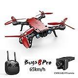 Koeoep Bugs 8 Pro RC Quadcopter 5.8G FPV Drone Helicóptero de carreras de alta velocidad 6-Axis Gyro Aircraft