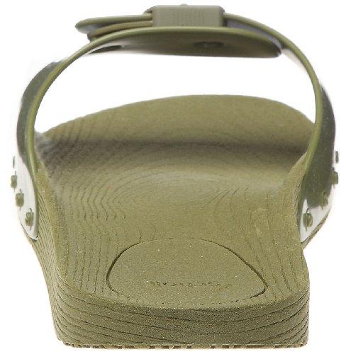 Scholl, Scholl POP, Scarpe basse Unisex - adulto Military Green