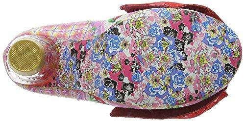 Irregular Choice Bowtina, Escarpins femme Rose (Pink Floral)