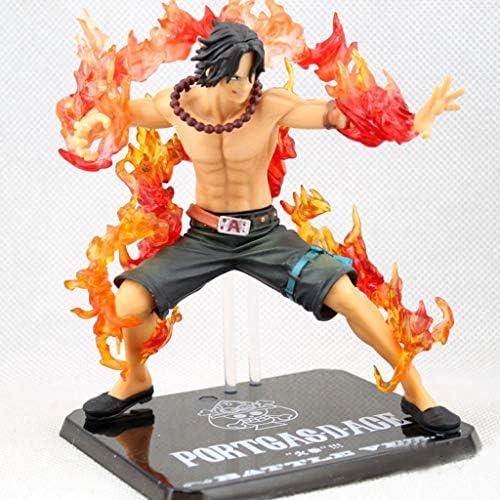 SMBYLL One Piece Feu Poing Ace Ace Ace Statue Modèle Exquis 13 cm Anime Décoration Décoration Cadeau d'anniversaire Poupée Poupée Modèle Anime   Sale Online  e4eb6f