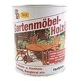 Öl TIGER Gartenmöbel-Holzöl farblos seidenglänzend...