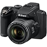 Nikon Coolpix P500 Digitalkamera (12 Megapixel, 36-fach opt. Zoom, 7,5 cm (3 Zoll) Display, Full-HD Video, bildstabilisiert) schwarz