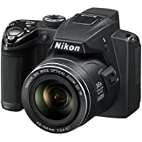 Nikon Coolpix P500 Digitalkamera (12 Megapixel, 36-fach opt. Zoom, 7,5 cm (3 Zoll) Display, Full-HD Video, bildstabilisiert) schwarz