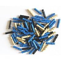 LEGO Bau- & Konstruktionsspielzeug Lego Technic 31 lange blaue Achsen Pin-Verbinder mit Stopper LEGO Bausteine & Bauzubehör 6558.