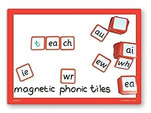 Inspirational Classrooms 3005405 - Juguete Educativo (88 Unidades, magnético, diseño de Letras)