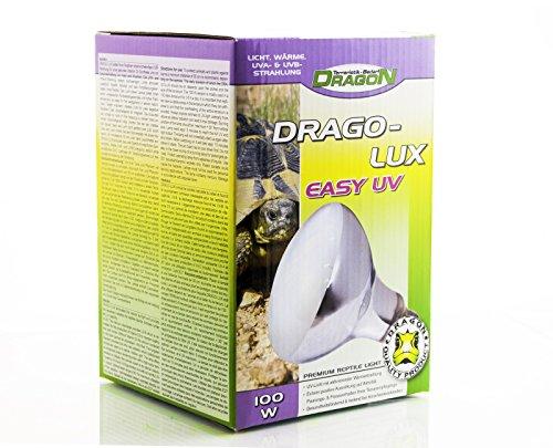 Dragon - DRAGO-LUX UV-Strahler EASY 100w E27 - mit sehr hohen UVA & UVB Anteil