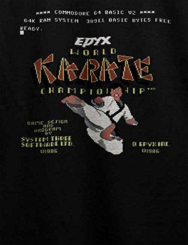 World Karate Championship T-Shirt Schwarz