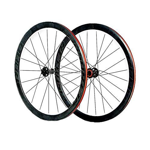 Fahrrad Laufrad Straße 700C Rad Vorne Hinten Set Felgen Disc Scheibenbremse 4 Lager Zubehör Aus Aluminum Alloy