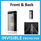 LG G5 Full Body INVISIBLE Screen Protector Film (Front & Back included) Military Grade Protection Exclusive to ACE CASE