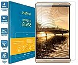 PREMYO Verre Trempé pour Huawei MediaPad M2 Film Protection Écran pour MediaPad M2 8.0 Vitre Protecteur Compatible avec Huawei MediaPad M2 8.0 Dureté 9H Bords 2,5D Anti-Rayures sans Bulles Résistant