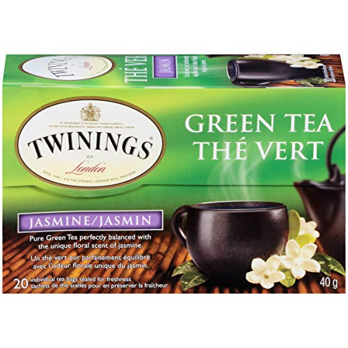 Twinings Jasmin Grüner Tee - 20 Teebeutel (Packung mit 6)