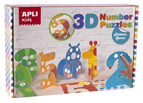 apli-apli14591-3d-nombre-puzzle-autocollant-jeu