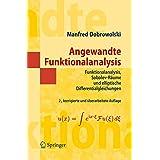 Angewandte Funktionalanalysis: Funktionalanalysis, Sobolev-Räume und elliptische Differentialgleichungen (Springer-Lehrbuch Masterclass)