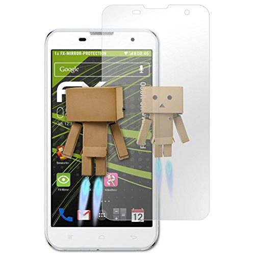 atFolix Bildschirmfolie kompatibel mit Hisense HS-U800 Spiegelfolie, Spiegeleffekt FX Schutzfolie