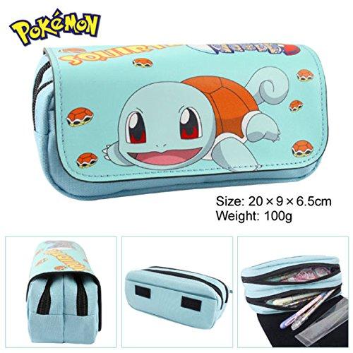 Estuche-para-lpices-de-Pokemon-con-dos-compartimentos-para-nios-Craze-UK-Squirtle