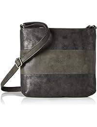 39.710.94.8006, Womens Backpack Handbag, Schwarz (Black/schwarz), 8x26x21.5 cm (B x H T) s.Oliver