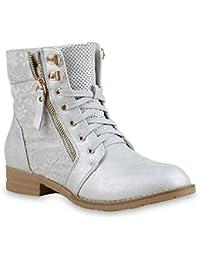 e7d9f4bcc25ef9 Suchergebnis auf Amazon.de für  Silber - Stiefel   Stiefeletten ...