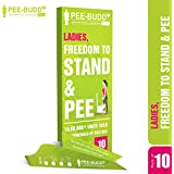Peebuddy - Ladies Freedom to Stand and Pee Paper Based Disposable Female Urination Device for Women - 10 Funnels