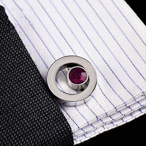 Wsdxk nuovi gioielli di marca viola sfera di cristallo gemelli pulsanti all'ingrosso designer di alta qualità gemelli per camicia da donna abotoaduras