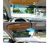 Aletta visiera parasole auto universale regolabile 2 in 1 migliora la visibilità diurna e notturna. MWS