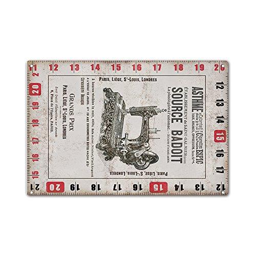 blechschilder-metallschild-retro-source-badoit-scale-massstab-wandschilder-aluminium-20cm-x-30cm