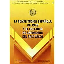 Constitucion Española de 1978 y EstatutoDe Autonomia del Pais Vasco