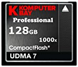 Komputerbay 128GB Professionelle COMPACT FLASH CARD CF 1000X 150MB/s Extreme Speed ​​UDMA 7 RAW 128 GB