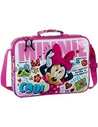 """Safta Maletín Minnie Mouse """"Cool""""Oficial Para Ordenador 380x60x280mm"""