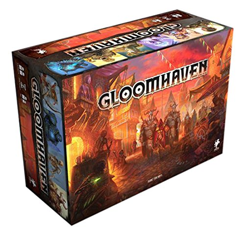 Cephalofair Games GLOOMHAVEN - Juego de Mesa en Inglés