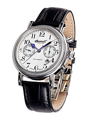 ingersoll-mens-automatic-watch-with-white-dial-chronograph-display-and-black-leather-strap-in1828wh