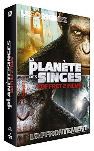 La Planète des Singes : Les origines + La Planète des Singes : L'Affrontement