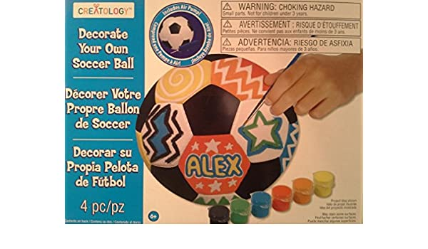 Creatology Decorate Your Own Soccer Ball Amazoncouk Kitchen Home Beauteous Decorate Your Own Soccer Ball