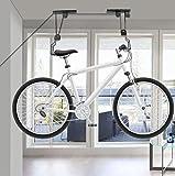 Fahrrad-Aufzug-Deckenmontierte Hoist-Fahrrad-Ausstellungsstand-Parkspeicher-Aufhänger-Zahnstangen-Flaschenzug-Gestell-Fahrrad-Versammlungen