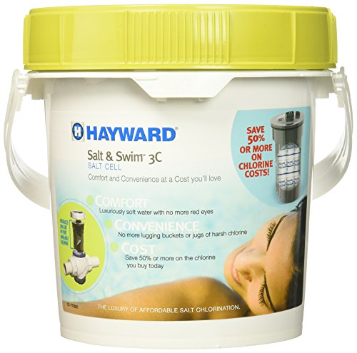 Hayward Salz und Swim 3C, Pool Alternative mit Kompression Gewerkschaften