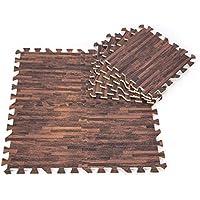 Yosoo - Alfombrilla de gomaespuma EVA tipo puzle de 30 x 30 cm (9 piezas)