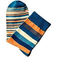 DEELIN Colores De Moda OtoñO Colorido De Los Hombres A Rayas Así Calcetines En Calcetines De