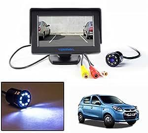 "Speedwav 4.3"" LCD TFT Monitor & LED Reverse Parking Camera-Maruti Alto 800"