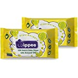 Wippee 30N Usable Baby Wipes With Almond Oil ( Pack Of 2)