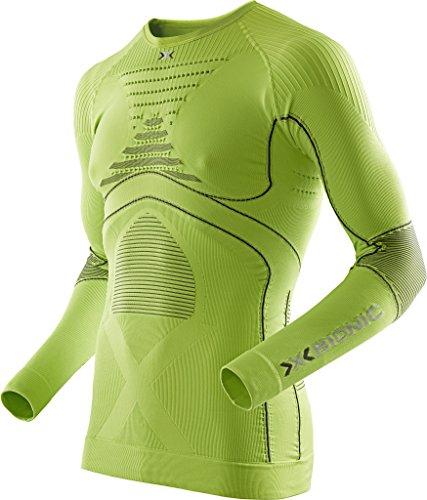 X-Bionic Erwachsene Funktionsbekleidung Man Acc Evo UW Shirt LG SL, I020216, Grün (Verde), L/XL (Polo Lg Performance)
