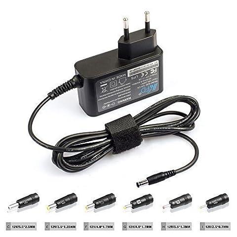 KFD 24W 12V 2A univerale Chargeur,Alimentation de commutation universelle 12V 2000mA Chargeur univeral Pour Kit de Surveillance Western Digital, Verbatim, Telekom, T-COM, AVM , Speedport W700V W701V W721V W722V W501V W502V W503V W900V W920V Yamaha PA-130, PA-150 PA-3 EPA-3, EPA-6, PA-6; NP-31 NP-30 EZ-200 YPT-220 YPT-230 PSR-E413 DGX-630,Portable Keyboards PC Engines ALIX.1D, ALIX 1D -alimentation Diameter du connecteur 5.5*2.1MM, 2,5*0,7MM 3,5*1,35MM, 4,0*1,7MM, 4,8*1,7MM, 5,5*1,7MM,