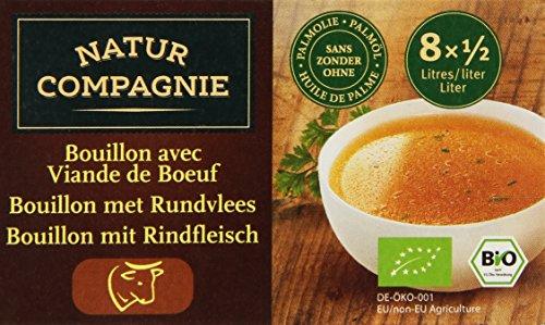 Natur Compagnie Bouillon de Bœuf en Cubes 96 g