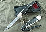 C8P CHENPK0554 Testa di rame e legno scuro Fatto a mano Damasco pieghevole coltelli