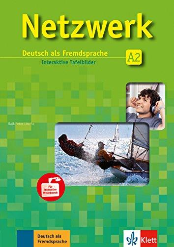 Netzwerk A2: Deutsch als Fremdsprache. 40 Interaktive Tafelbilder auf CD-ROM (Netzwerk / Deutsch als Fremdsprache)